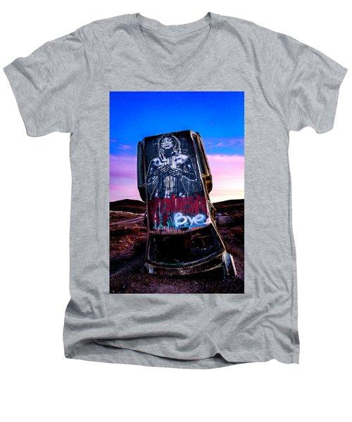 International Car Forest Of The Last Church 4 Men's V-Neck T-Shirt