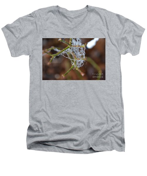 Intertwined In Beauty And Life. -georgia Men's V-Neck T-Shirt