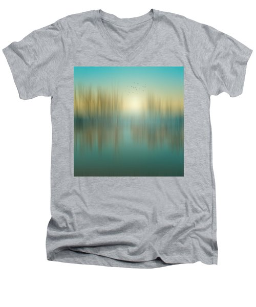 Interval Between Sunrise And Noon Men's V-Neck T-Shirt