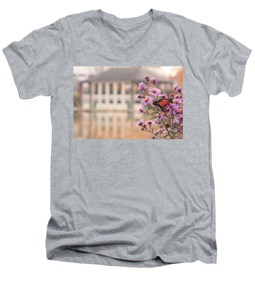 Into The Asters Men's V-Neck T-Shirt
