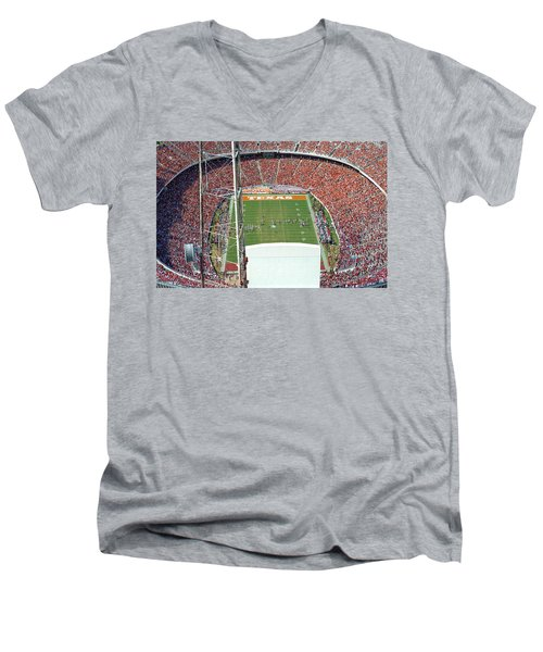 Into The Bowl Men's V-Neck T-Shirt