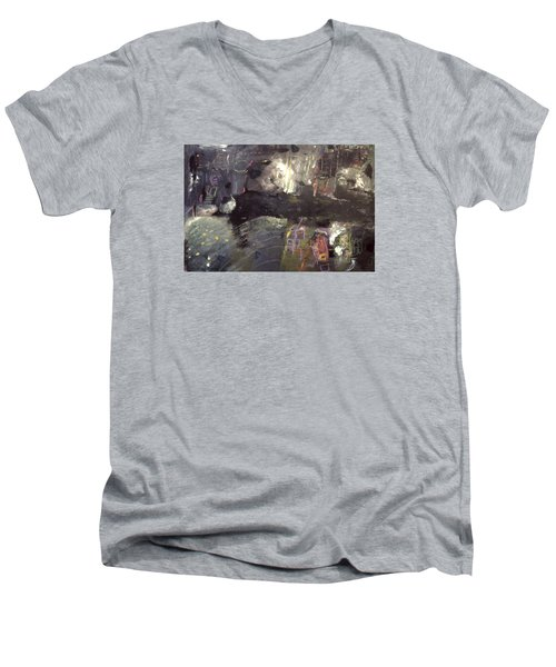 Into The Caves Men's V-Neck T-Shirt