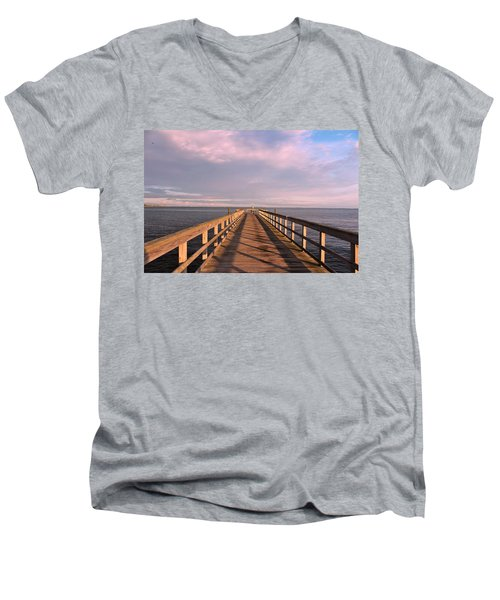 Into The Clouds Men's V-Neck T-Shirt