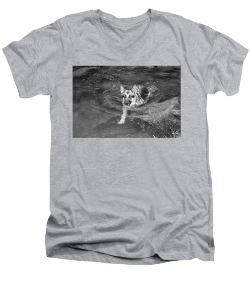 Into The Cold Men's V-Neck T-Shirt