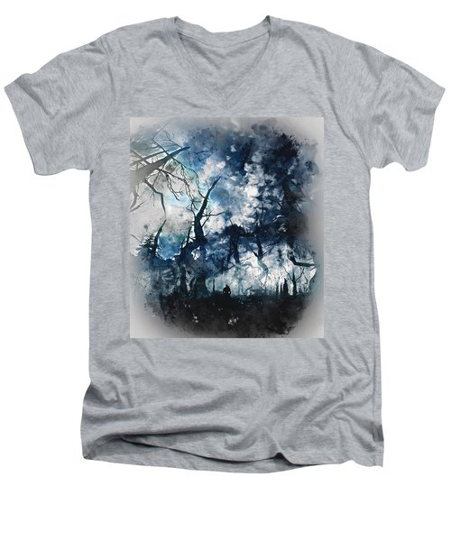 Into The Darkness - 01 Men's V-Neck T-Shirt