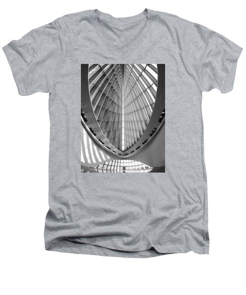 Into The Future Men's V-Neck T-Shirt
