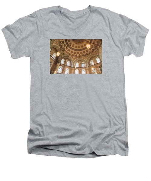Into The Hagia Sophia Mausoleum Men's V-Neck T-Shirt by Yuri Santin