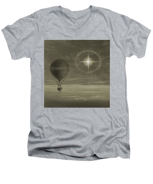 Into The Night Sky Men's V-Neck T-Shirt