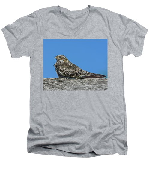 Men's V-Neck T-Shirt featuring the photograph Into The Out by Tony Beck