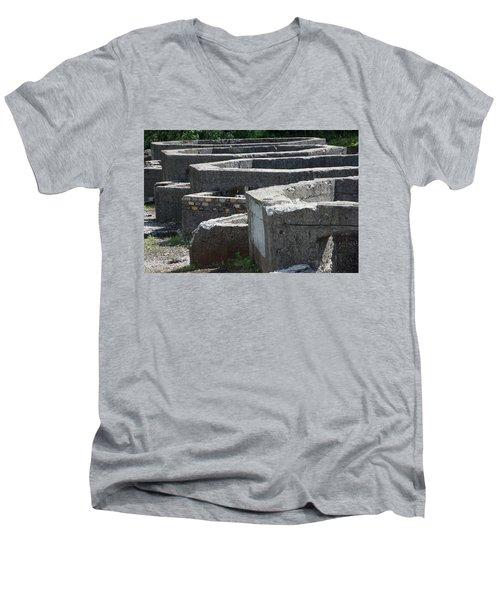 Into The Ruins 3 Men's V-Neck T-Shirt