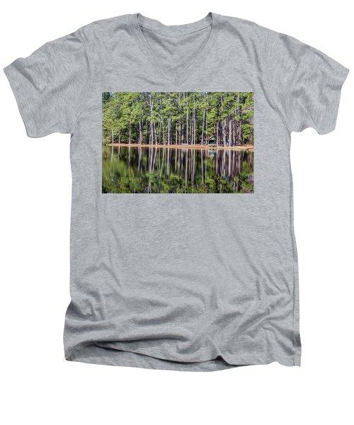 Into The Sc Woods Men's V-Neck T-Shirt