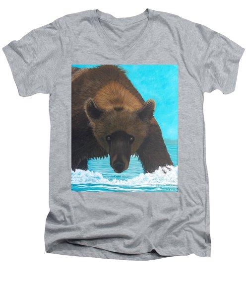Interuption Men's V-Neck T-Shirt