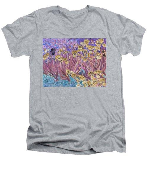 Inv Blend 6 Van Gogh Men's V-Neck T-Shirt