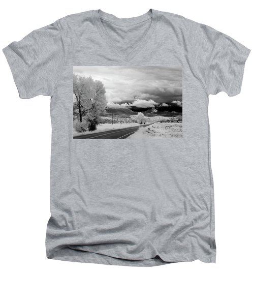 Invisible Drive Men's V-Neck T-Shirt