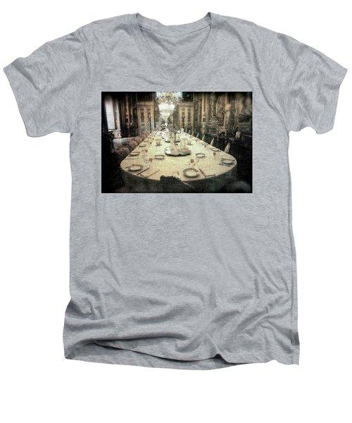 Invitation To Dinner At The Castle... Men's V-Neck T-Shirt
