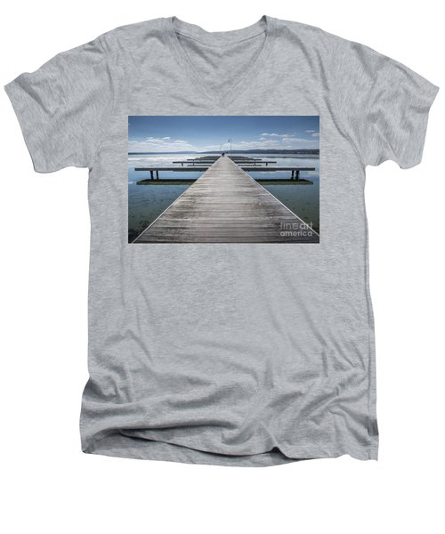 Inviting Walk Men's V-Neck T-Shirt