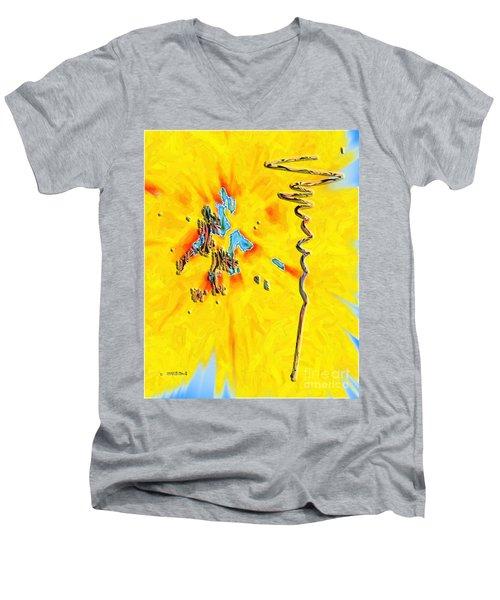Inw_20a5227rz_grow Men's V-Neck T-Shirt