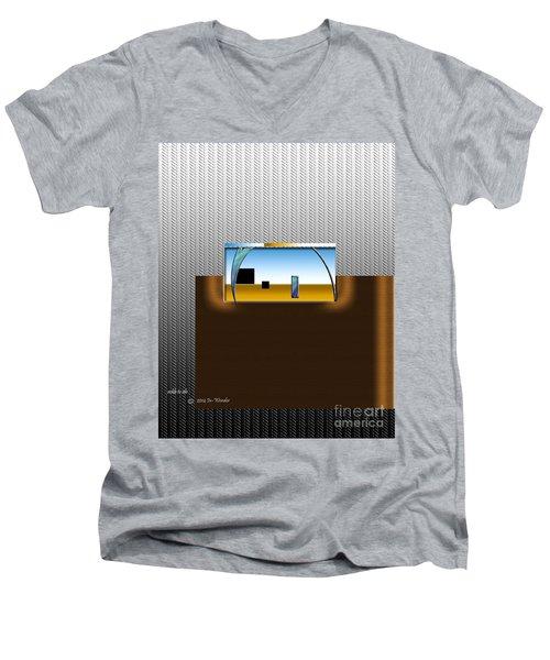 Inw_20a6109_sickle-to-silo Men's V-Neck T-Shirt