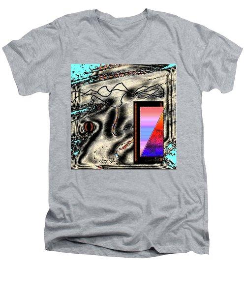 Inw_20a6505 Universal Mining Men's V-Neck T-Shirt