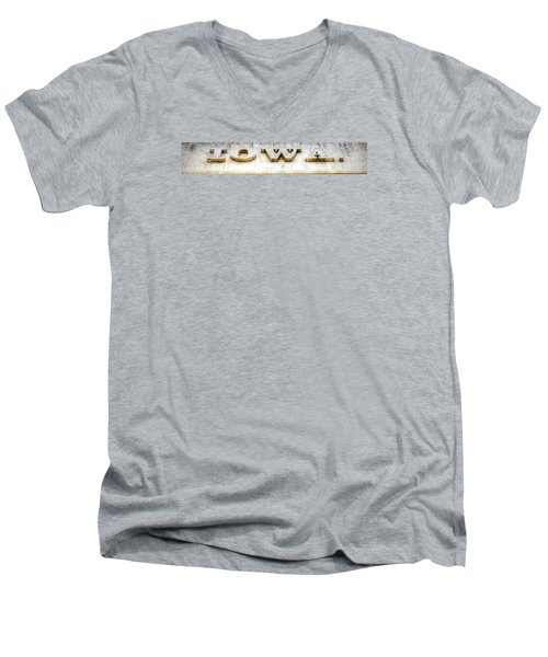 Iowa. Men's V-Neck T-Shirt