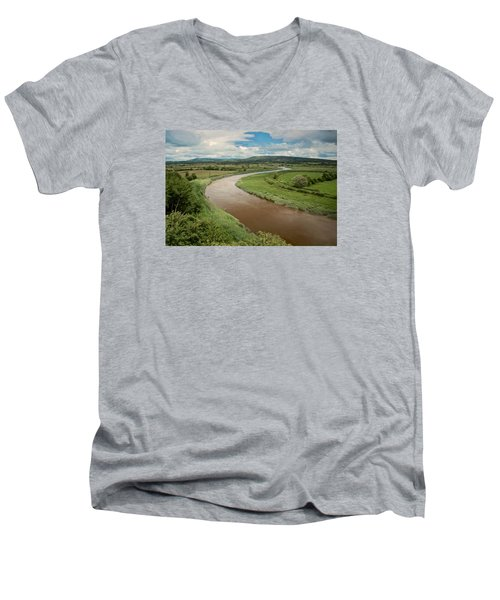 Ireland River Men's V-Neck T-Shirt