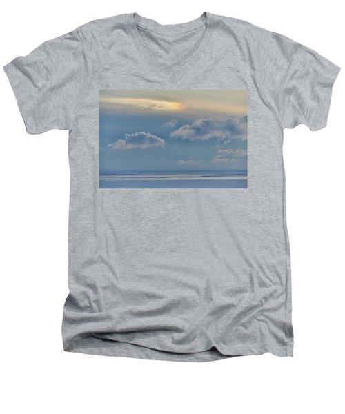Iridescence Horizon Men's V-Neck T-Shirt