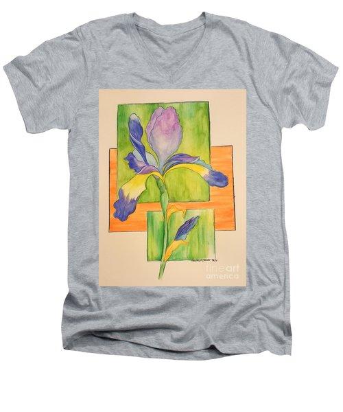Iris Men's V-Neck T-Shirt