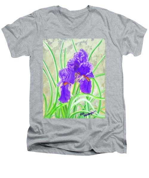 Iris Hope Men's V-Neck T-Shirt
