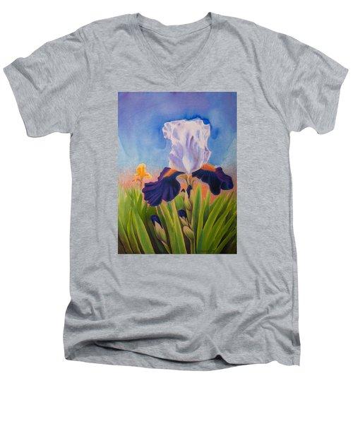 Iris Morning Men's V-Neck T-Shirt