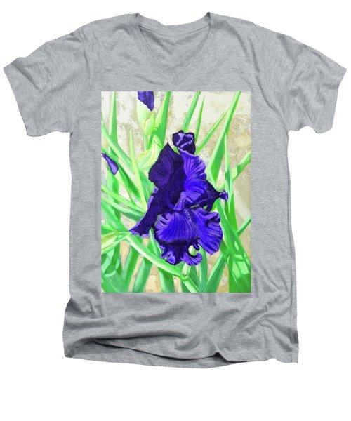 Iris Royalty Men's V-Neck T-Shirt
