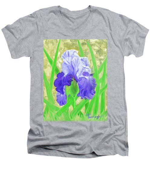 Iris Valor Men's V-Neck T-Shirt