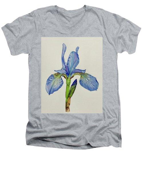 Iris You Were Here Men's V-Neck T-Shirt