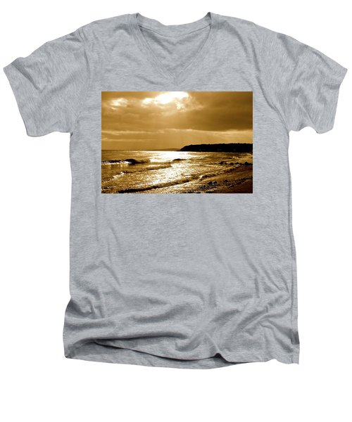 Irish Sea Men's V-Neck T-Shirt