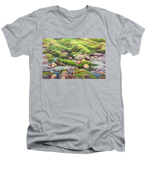 Irish Seas Men's V-Neck T-Shirt