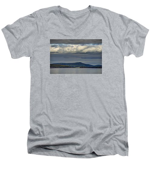 Irish Sky - Dingle Bay Men's V-Neck T-Shirt
