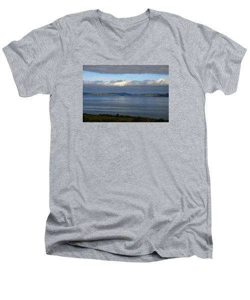 Irish Sky - Ring Of Kerry, Dingle Bay Men's V-Neck T-Shirt