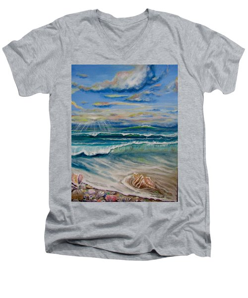 Irma's Treasure Men's V-Neck T-Shirt