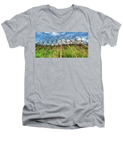 Irrigation Pipes 1 Men's V-Neck T-Shirt