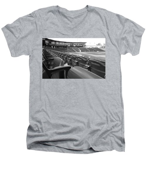 Is It Baseball Season Yet? Men's V-Neck T-Shirt