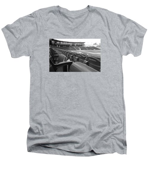 Is It Baseball Season Yet? Men's V-Neck T-Shirt