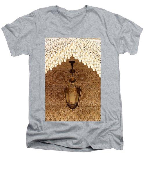 Islamic Plasterwork Men's V-Neck T-Shirt
