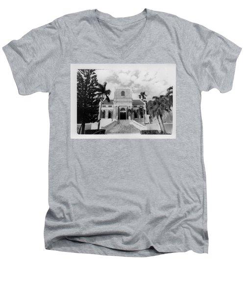 Island Church  Men's V-Neck T-Shirt