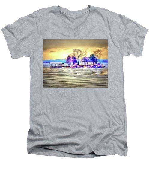 Island Life Men's V-Neck T-Shirt