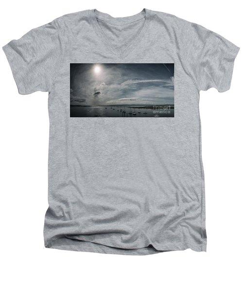 Island Panorama Men's V-Neck T-Shirt