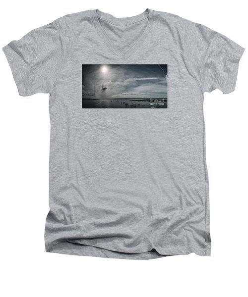 Island Panorama Men's V-Neck T-Shirt