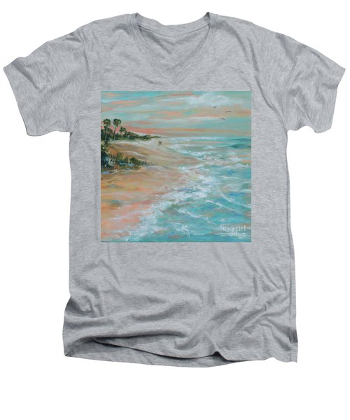 Island Romance Men's V-Neck T-Shirt