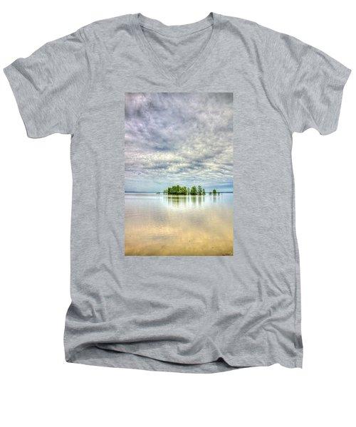 Island Storm Men's V-Neck T-Shirt