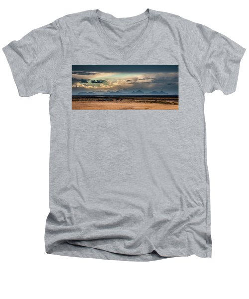Islands In The Sky Men's V-Neck T-Shirt