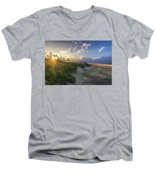 Isle Of Palms Sunstar Men's V-Neck T-Shirt