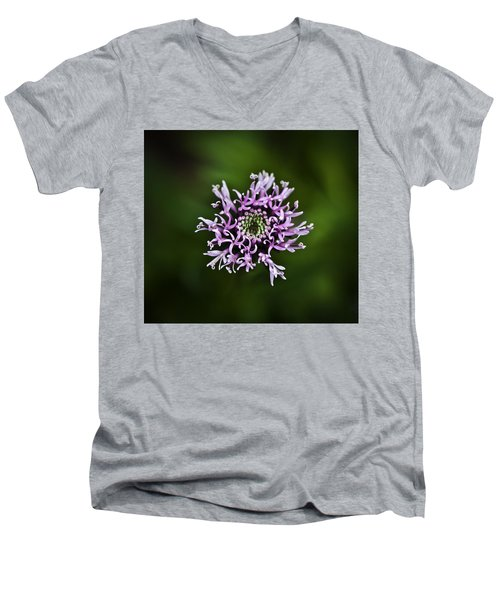 Isolated Flower Men's V-Neck T-Shirt